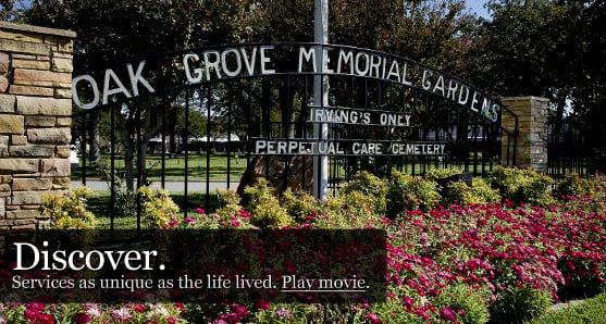 Garden Oak Funeral Home. Oak Grove Memorial Gardens